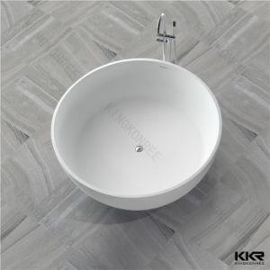 Wholesale Round Acrylic Stone Freestanding Bathtub pictures & photos