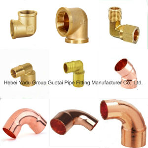 Pipe Fittings Copper Forged Weld Elbows pictures & photos