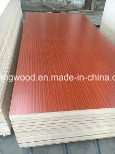 ISO9001/2008 Certificate Melamine Faced Plywood pictures & photos