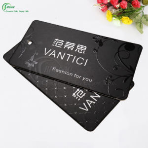 Custom Paper Garment Label Tags (KG-PA045) pictures & photos