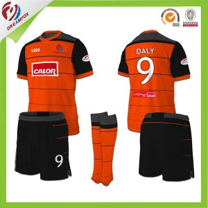 Best Quality Soccer Uniform for Kid Team with 100%Polyester Fabric pictures & photos