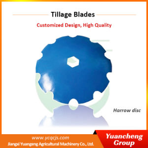 Agriculture Gardening Blades Harrow Disc Plow Coulter pictures & photos