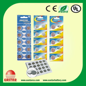 3V Cr2032 Lithium Button Cell with Blister Card pictures & photos