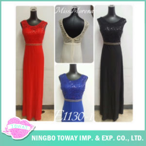 Floor Length Women Party Formal Dinner Dresses for Ladies pictures & photos