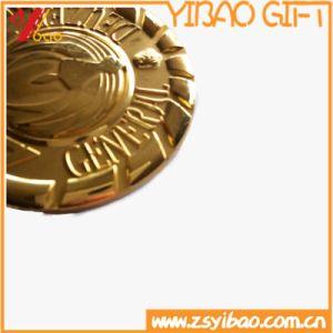 High 3D Gold Meda/Medallion Souvenir (YB-HR-47) pictures & photos