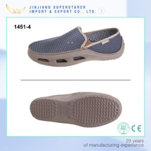 Summer Breathable EVA Mesh Shoes Men Casual pictures & photos