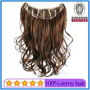 Fast Shipping Wholesale Virgin Brazilian Clip Hair pictures & photos