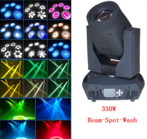Factory Price 17r 350W Beam Spot Wash Moving Head Light pictures & photos