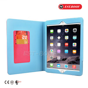 Factory Directly Selling Fashion Leather Tablet Case for iPad Case pictures & photos
