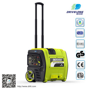 2kw Gasoline Digital Inverter Generator Smart Generator pictures & photos