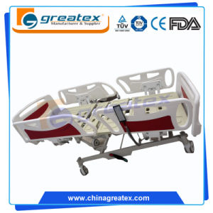 FDA Ce 5 Multiple Function Electric Hospital Bed (GT-BE5026) pictures & photos