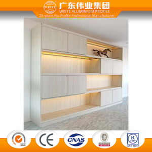 Good Quality Bedroom Furniture Aluminum/Aluminium/Aluminio Bookcase Home Furniture pictures & photos