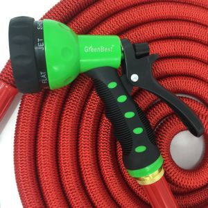 Best Selling on Amazon and Ebay Garden Hose Blue, Expandable Garden Hose with 7 Function Spray Nozzle pictures & photos