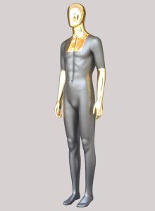 Male Mannequins with Chrome Face pictures & photos