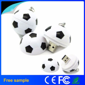 OEM Manufacturer Wholesale Football Shaped PVC USB Flash Drive pictures & photos
