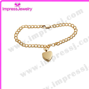 Bijoux Femme Gold Plated Bangle Pulseiras COM Pingente Stainless Steel pictures & photos