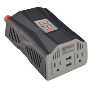 200W Portable AC Inverter with USB Charger pictures & photos