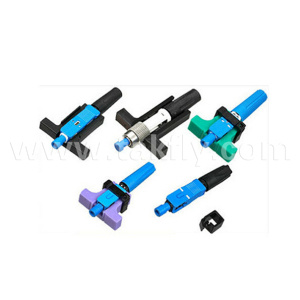 St 9/125 Single-Mode Fiber Optic Connector pictures & photos