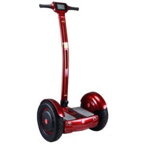 Four Color Two Wheels Electric Outdoor Electric Scooter with Handle pictures & photos