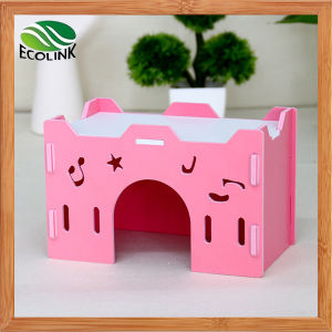Rlley Waterproof Ecological Hedgehog Castle Cage Guinea Pig Cage Rabbit Hole Toy House Chalet Multicolour pictures & photos