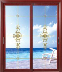 Aluminium Profile Sliding Wardrobe Door pictures & photos