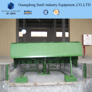 Ce Approved Adjustable Stationary Warehouse Platform Hydraulic Dock Leveler pictures & photos