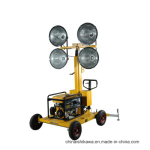 High Quality Outdoors 4 Lights Construction Light Tower pictures & photos
