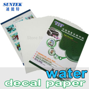Water Transfer Paper for Ceramic Glass Plastic Candle Mug pictures & photos