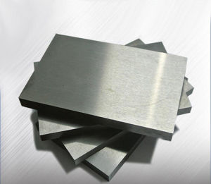 Tungsten Plate Tungsten Strips for Different Industries ISO Certificate pictures & photos