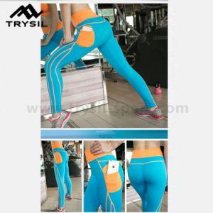 Wholesale Lady′s Gym Pants Fitness Wear Sport Legging pictures & photos