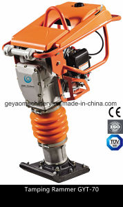 Construction Machinery Gasoline Vibratory Tamping Rammer Gyt-70h with Honda Gx100 pictures & photos