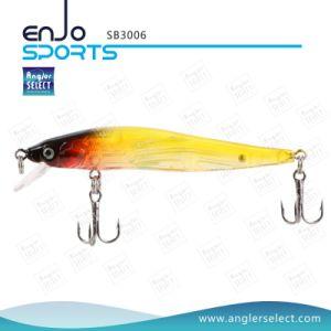 Stick Bait Fishing Gear Fishing Lure with Vmc Treble Hooks (SB3006) pictures & photos