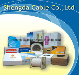 Siamese RG6 Standard Shield Coaxial Antenna Cable pictures & photos