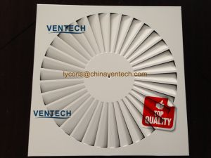 HVAC System Material Exhaust Air Diffuser Sheet Air Swirl Diffuser pictures & photos