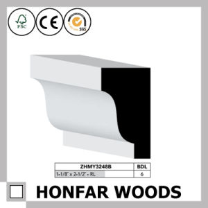 """1/2""""X11/16"""" Ceiling Decorative Material MDF Primed Crown Moulding pictures & photos"""