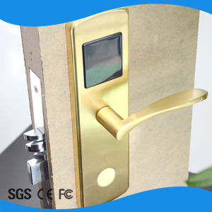 Standalone Electronic Handle Lock Smart Door RFID Hotel Lock pictures & photos