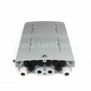 FTTH Waterproof IP68 8 Cores Drop Cable Fiber Optic Splitter Box pictures & photos