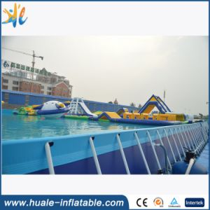2016 High Quality Adult Kits Metal Frame Inflatable Swimming Pool for Sale