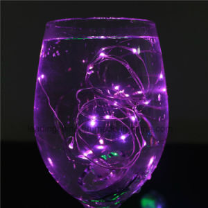 20 Amber LEDs Submersible Micro Waterproof Fairy Starling Rope Lights pictures & photos