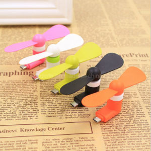 High Quality Cheap USB Mini Fan for Android Phone with OTG