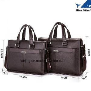 2016 New Man Handbag PU Leather Business Messenger Bag Wholesale pictures & photos