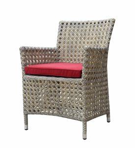 Aluminum Flat Wicker Chair Alum Garland Woven Outdoor Pario Furniture (GT4) pictures & photos