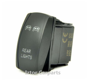 Laser Etched 12V Rocker Switches with Reserve Light pictures & photos