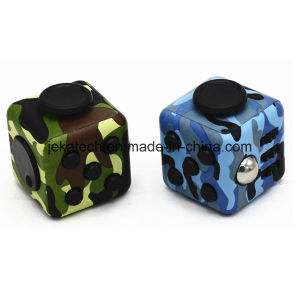 Factory Fidget Cube Toy Six Sided Camouflage Anti Stress Fidget Cube pictures & photos