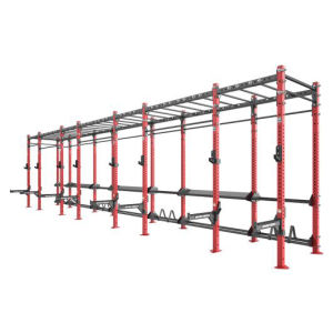 Hammer Strength Gym Equipment / Horizontal Monkey Bar Rig with Rear Storage (SF1-7002) pictures & photos