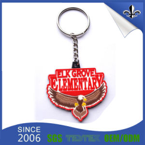 Christmas Decoration Gift Promotion PVC Key Chain Holder pictures & photos
