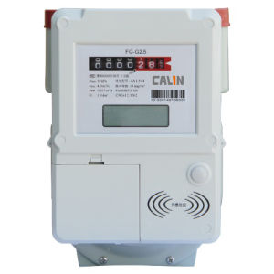 Compliant Contactless IC Card Prepaid Gas Meter with LCD Display, Lightweight pictures & photos