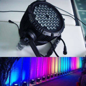 54X3w RGBW Waterproff PAR Light for Event Show Washing pictures & photos