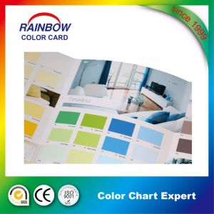 Promotional Building Material Wall Paint Color Card Catalogue pictures & photos
