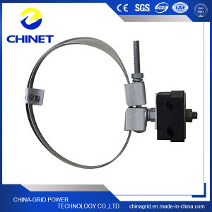 Rubber or Metal Down Lead Clamp for Pole & Tower pictures & photos